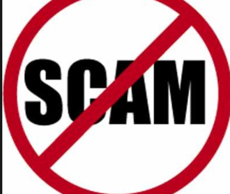 DO NOT BECOME A VICTIM OF ONLINE SCAM