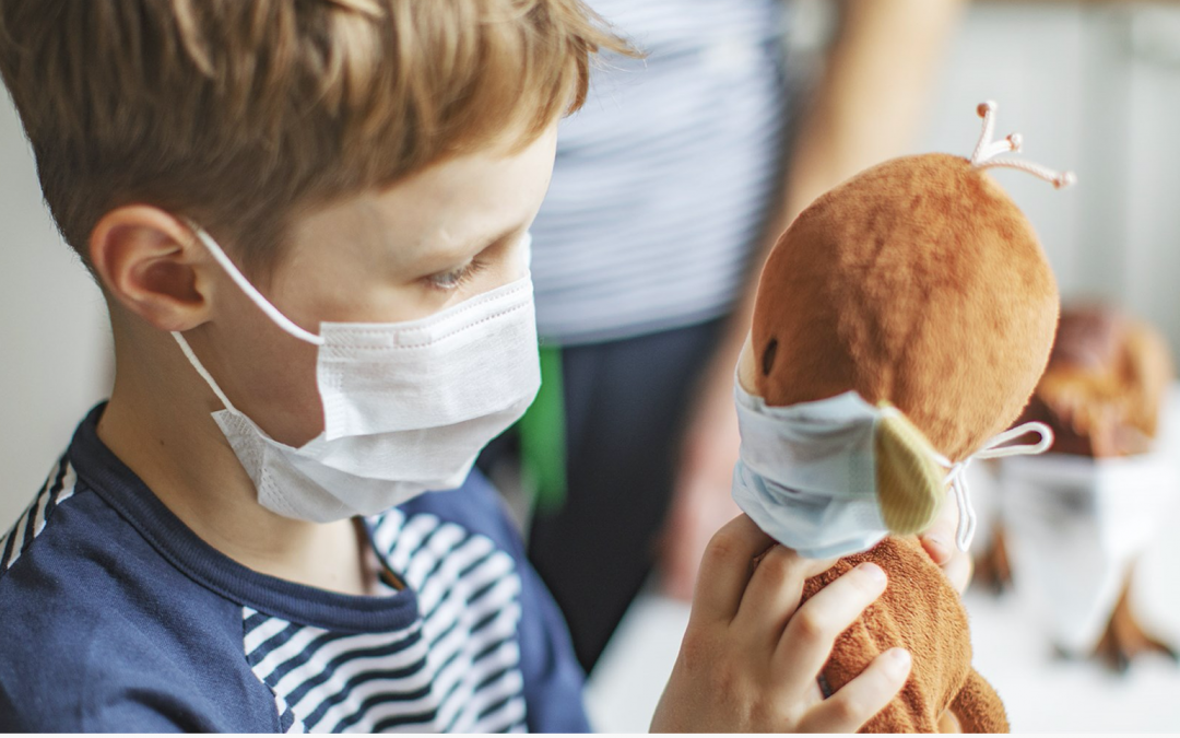 CDC SAYS CHILDREN SHOULD WEAR FACE COVERINGS. HERE'S HOW TO